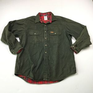 Carhartt Mens Green Shirts L OR:x01514